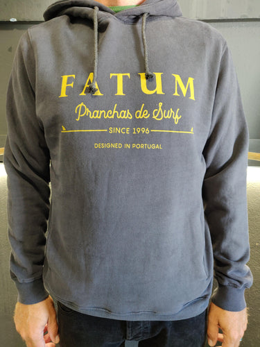 Fatum Fishing Hoodie in Dark Grey