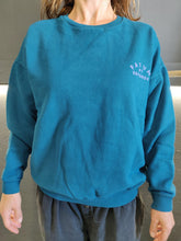 Load image into Gallery viewer, Fatum Ladies Emporium Sweatshirt in Deep Blue