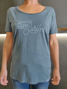 Fatum Ladies Settle T-Shirt - Blue