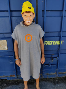 Fatum November Poncho and Beanie Combo