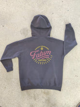 Load image into Gallery viewer, Fatum Ladies Sunrise Hoodie in Thunder Grey