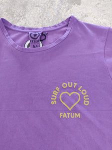 Fatum Ladies Love T-shirt in Purple