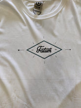 Load image into Gallery viewer, Fatum Double Diamond T-shirt - white