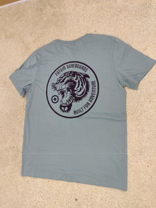 Fatum Tiger T-Shirt - Blue