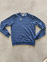 Load image into Gallery viewer, Fatum Mens Ottis sweat blue stripes