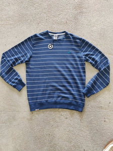 Fatum Mens Ottis sweat blue stripes