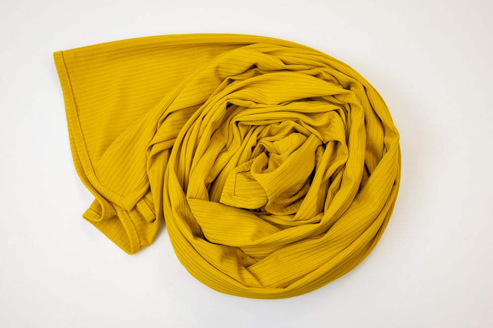 Premium Ribbed Stretchy Jersey Headwraps