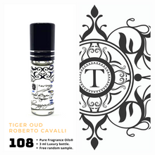 Load image into Gallery viewer, Tiger Oud | Fragrance Oil - Unisex - 108