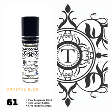 Load image into Gallery viewer, Crystal Blue | Fragrance Oil - Unisex - 61 - Talisman Perfume Oils®