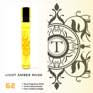 Light Amber Musk | Fragrance Oil - Unisex - 62