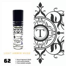 Load image into Gallery viewer, Light Amber Musk | Fragrance Oil - Unisex - 62