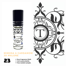 Load image into Gallery viewer, Mimosa & Cardamom | Fragrance Oil - Unisex - 121