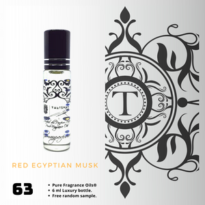 Red Egyptian Musk | Fragrance Oil - Unisex - 63