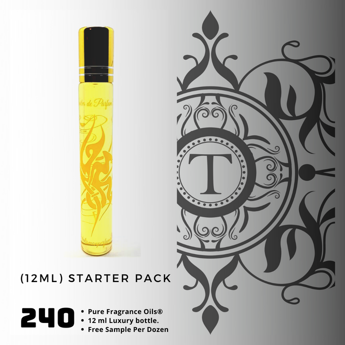 12ml x 240 Bottles - Starter Pack