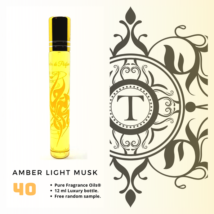 Amber Light Musk - Talisman Perfume Oils®