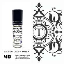 Load image into Gallery viewer, Amber Light Musk - Talisman Perfume Oils®