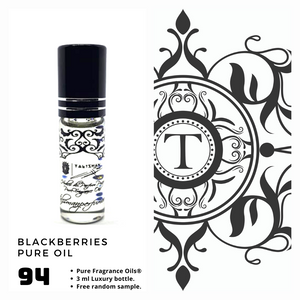 Blackberries Pure Oil - Talisman Perfume Oils®