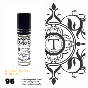 Blueberries Pure Oil - Talisman Perfume Oils®