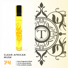 Load image into Gallery viewer, Clear African Musk | Fragrance Oil - Unisex - 74