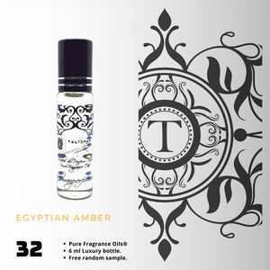 Egyptian Amber | Fragrance Oil - Unisex - 32