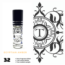 Load image into Gallery viewer, Egyptian Amber | Fragrance Oil - Unisex - 32