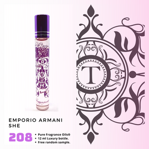 Emporio Armani SHE Inspired | Fragrance Oil - Her - 208