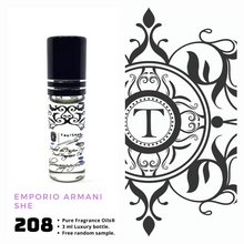 Load image into Gallery viewer, Emporio Armani SHE Inspired | Fragrance Oil - Her - 208