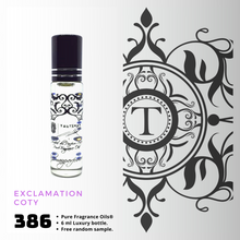 Load image into Gallery viewer, Exclamation - Coty | Fragrance Oil - Her - 386 - Talisman Perfume Oils®
