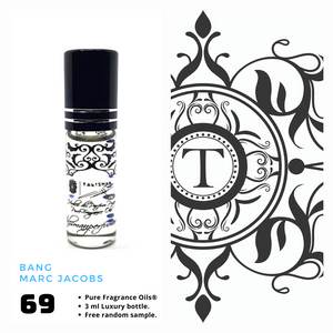 Bang - MJ - Him - Talisman Perfume Oils®
