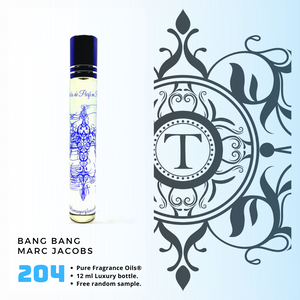 Bang Bang - MJ - Him - Talisman Perfume Oils®