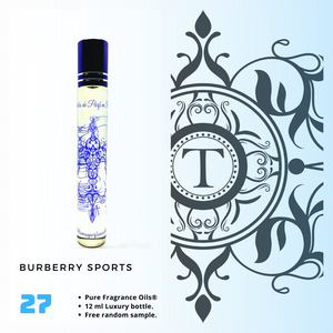 Sports | Fragrance Oil - Him - 27
