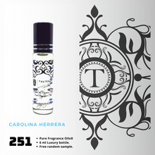 Load image into Gallery viewer, Carolina Herrera Inspired | Fragrance Oil - Him - 251 - Talisman Perfume Oils®