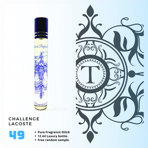 Challenge - Lacoste | Fragrance Oil - Him - 49