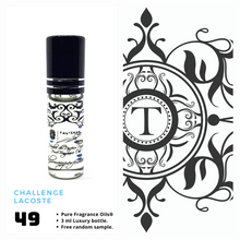 Load image into Gallery viewer, Challenge - Lacoste | Fragrance Oil - Him - 49