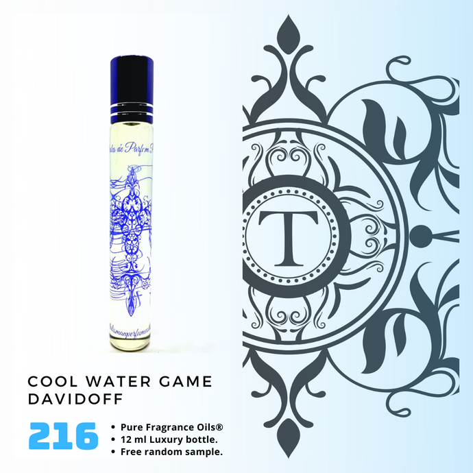 Cool Water Game | Fragrance Oil - Him - 216