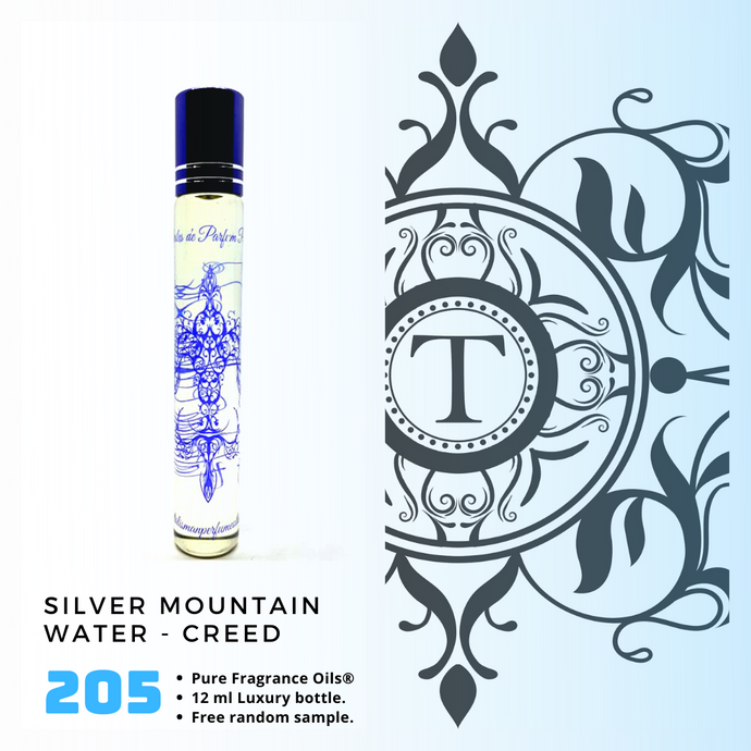 Silver Mountain Water | Fragrance Oil - Him - 205