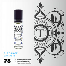 Load image into Gallery viewer, Elegance - Lacoste | Fragrance Oil - Him - 78 - Talisman Perfume Oils®
