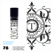 Load image into Gallery viewer, Elegance - Lacoste | Fragrance Oil - Him - 78