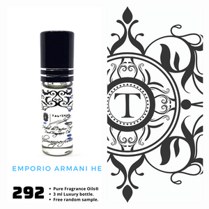 Emporio Armani HE Inspired | Fragrance Oil - Him - 292
