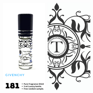 Givenchy Inspired | Fragrance Oil - Him - 181