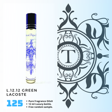 Load image into Gallery viewer, L.12.12 Green | Fragrance Oil - Him - 125