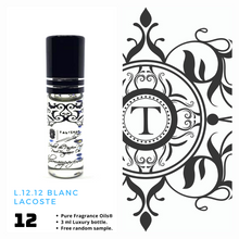 Load image into Gallery viewer, L.12.12 Blanc | Fragrance Oil - Him - 12