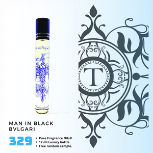 Man in Black - Bvl | Fragrance Oil - Him - 329