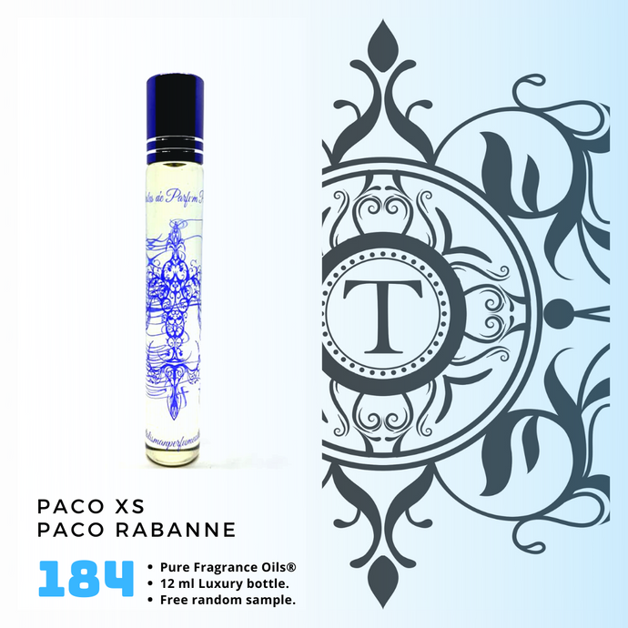 Paco XS Inspired | Fragrance Oil - Him - 184 - Talisman Perfume Oils®