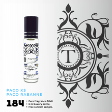 Load image into Gallery viewer, Paco XS Inspired | Fragrance Oil - Him - 184 - Talisman Perfume Oils®