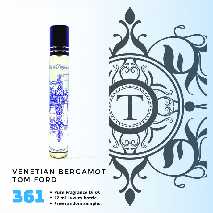 Venetian Bergamot | Fragrance Oil - Him - 361