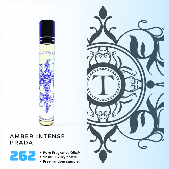 Amber Intense | Fragrance Oil - Him - 262 - Talisman Perfume Oils®