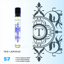 Load image into Gallery viewer, Ted Lapidus | Fragrance Oil - Him - 57