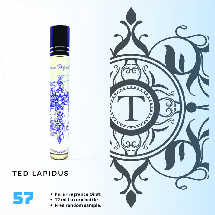 Ted Lapidus | Fragrance Oil - Him - 57