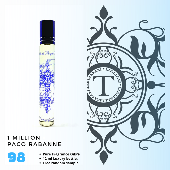 1 Million Inspired | Fragrance Oil - Him - 98 - Talisman Perfume Oils®